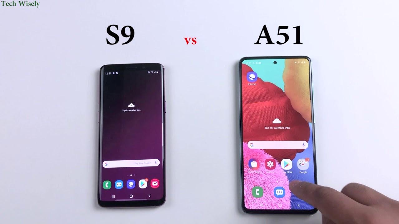 Photo of SAMSUNG A51 vs S9   Speed Test Comparison – سامسونج