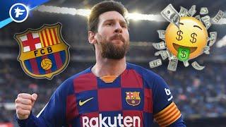 Les chiffres fous que rapporte Lionel Messi au FC Barcelone | Revue de presse