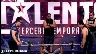 PERU TIENE TALENTO 27 09 14 LOS SUPER HOMBRES