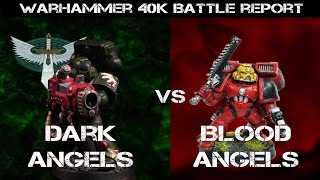 Castigator - New Blood Angels vs Dark Angels Warhammer 40k Battle Report - Jay Knight Batrep Ep 31