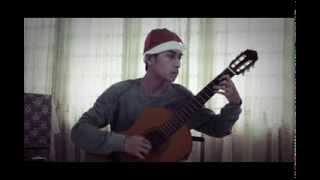 """""""Silent Night"""" (Đêm Thánh Vô Cùng) - Classical Guitar"""