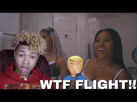 TI SAID FLIGHT SMALL?! || TAYLOR GIRLZ - MAN THOT (ROLL IN PEACE REMIX)
