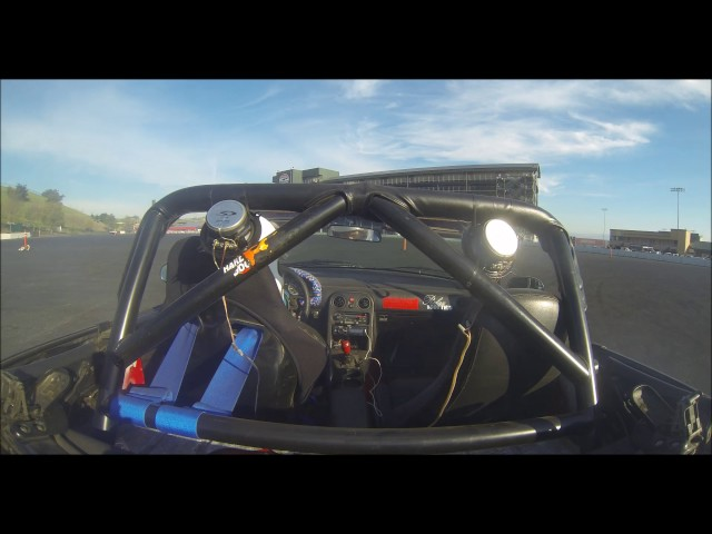 Ecotec swapped miata at Speed SF 11/05/16 Sonoma Raceway