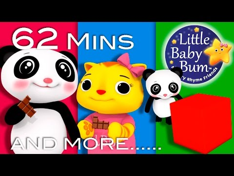 Thumbnail: Square Song | Plus Lots More Nursery Rhymes | 62 Minutes Compilation from LittleBabyBum!