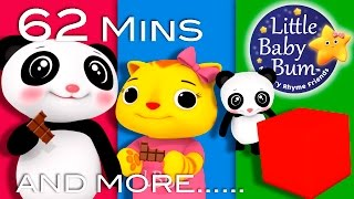 Learn with Little Baby Bum | The Square Song | Nursery Rhymes for Babies | Songs for Kids
