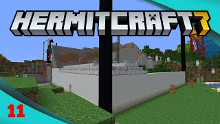 Tower Base - Hermitcraft 7 Ep11