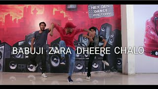 Babuji zara dheere chalo || dance choreography by shrikesh magar