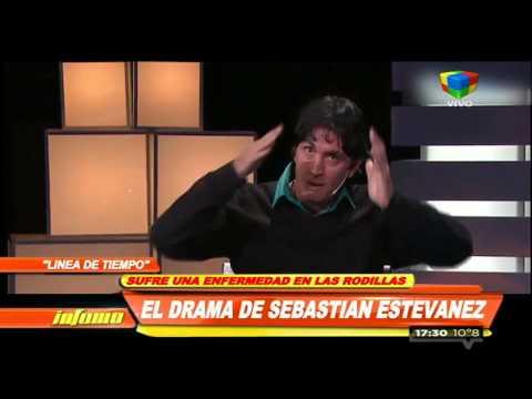Sebastián Estevanez y su lucha contra una enfermedad