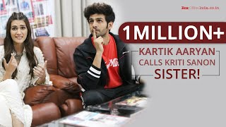 Sara Ali Khan makes Kartik Aaryan blush | Exclusive | Luka Chuppi