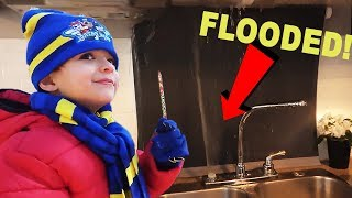 OUR CAMPER FLOODED!!