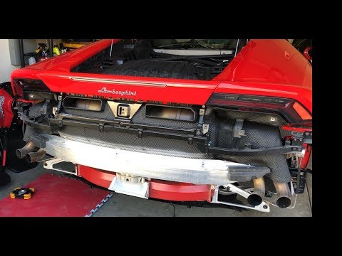 DYI – How To Install SOUL Performance Race Exhaust on Lamborghini Huracan