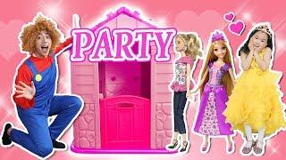 친구들 공주파티가 시작됩니다!!! Pretend Play with Princess doll Dress Up and Make Up Toys- 마슈토이 Mashu ToysReview