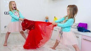 НастяПлей и Марго хотят одно и тоже платье на свидание