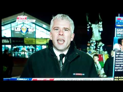 Bryn Law on Sky Sports News Talking About Gary Speed 28 November 2011