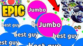 DESTROYING TEAMS IN AGARIO SOLO - Agar.io BEST MOMENTS EVER