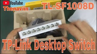 TP-Link Desktop Switch | TL-SF1008D 8-Port Switch 10/100Mbps | Thenaviin