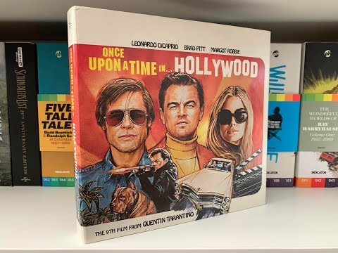 Once Upon A Time In Hollywood 4K Collector's Edition Unboxing