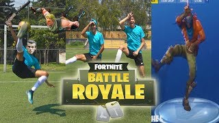 FORTNITE en la VIDA REAL / (Fortnite Battle Royale)
