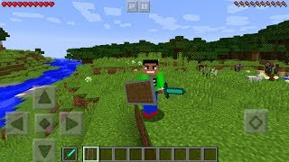 SHIELDS & 3D WEAPONS in Minecraft Pocket Edition!