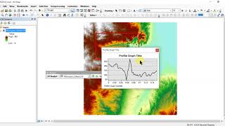 ArcGIS :River Channel Cross-Section Profile Creation