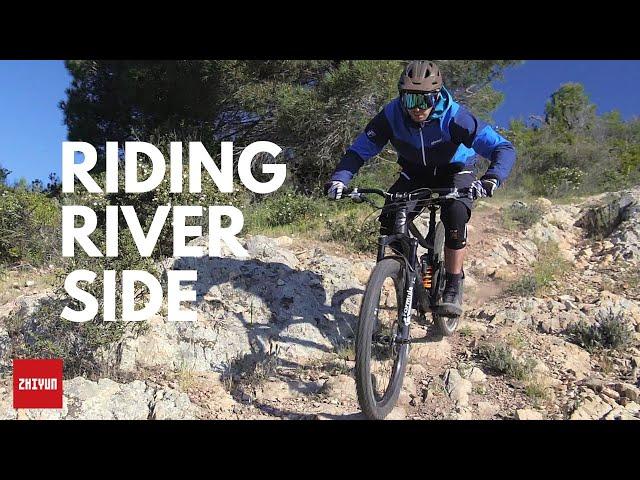 Riding Riverside | Zhiyun Crane 3 LAB Vlog