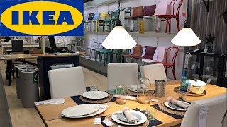 Ikea Kitchen Tables Chairs Dining Room Furniture   Shop With Me Shopping Store Walk Through 4k