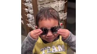 Tyler wants to have his own sunglasses! 😂