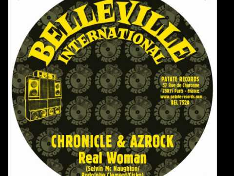 AZROCK FEAT CHRONICLE   REAL WOMAN
