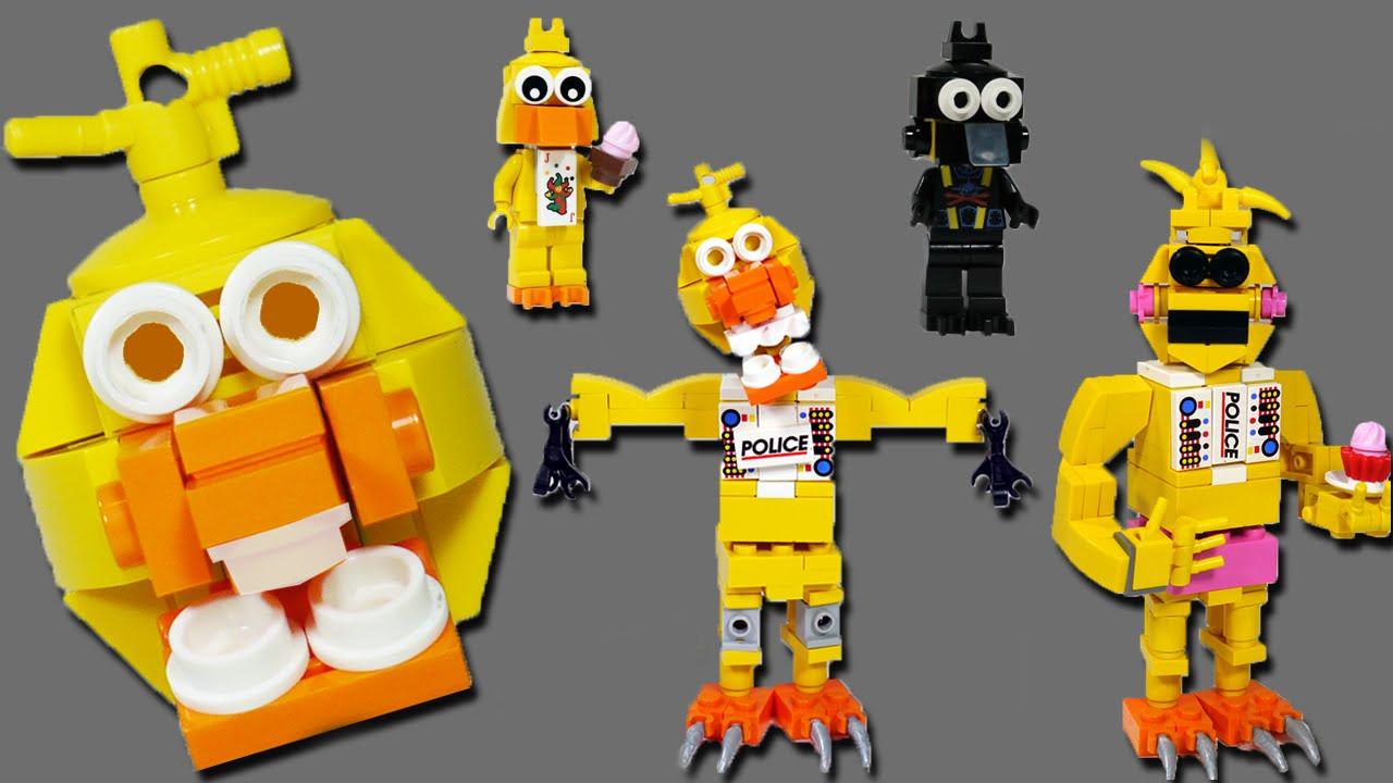 2017 05 freddy fazbear costume amazon - How To Build Lego Chica Toy Withered Phantom Lego Fnaf Youtube