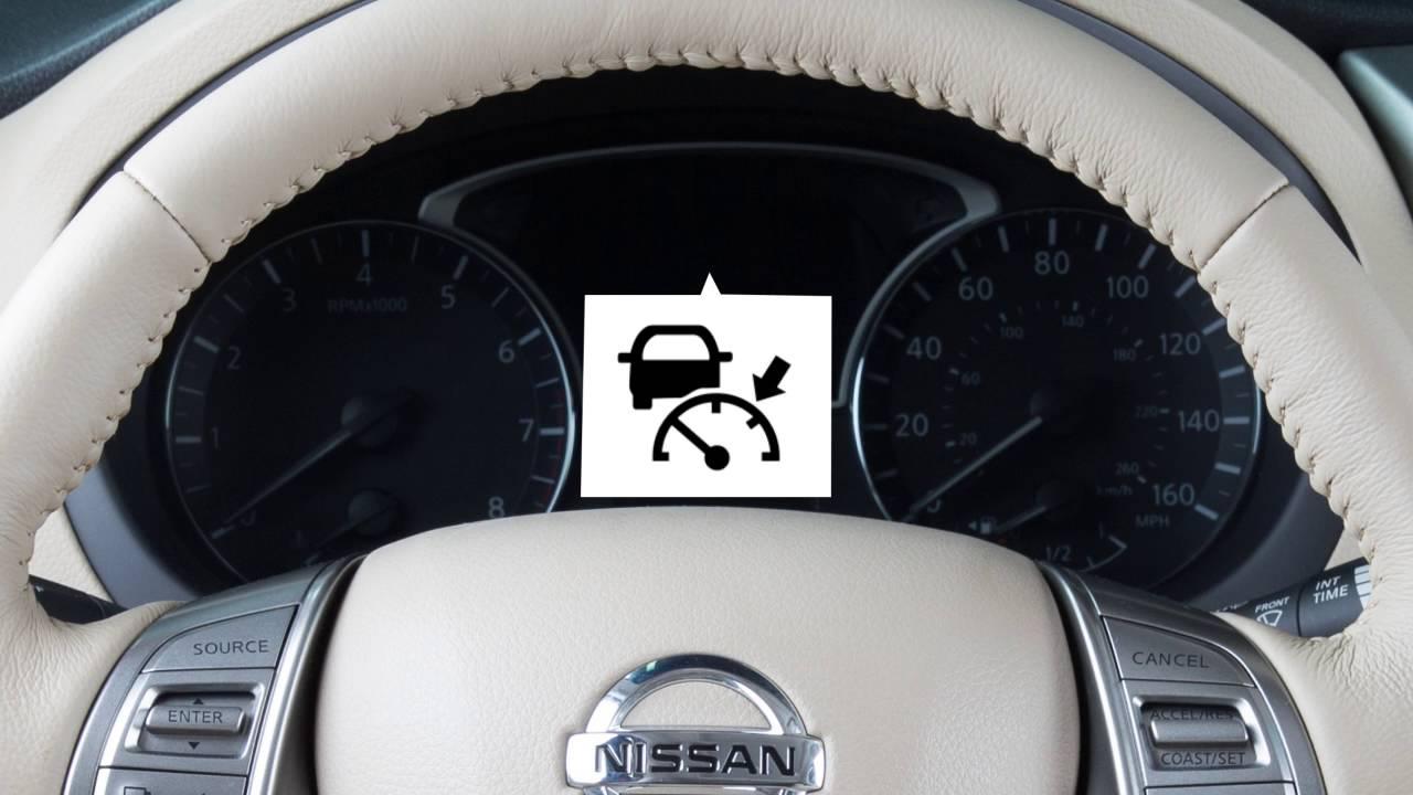 Nissan Maxima: Cruise control operations
