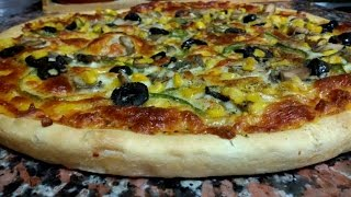 بالفيديو : الذ طريقة لعمل عجينة البيتزا الايطالية الأصلية