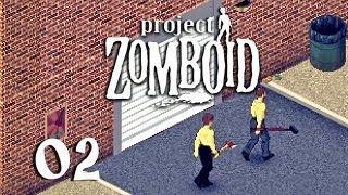 Project Zomboid #02 - Nackt und bewaffnet [Deutsch] [HD+] [Let