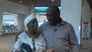 Mom makes first trip to US to visit son she hasn