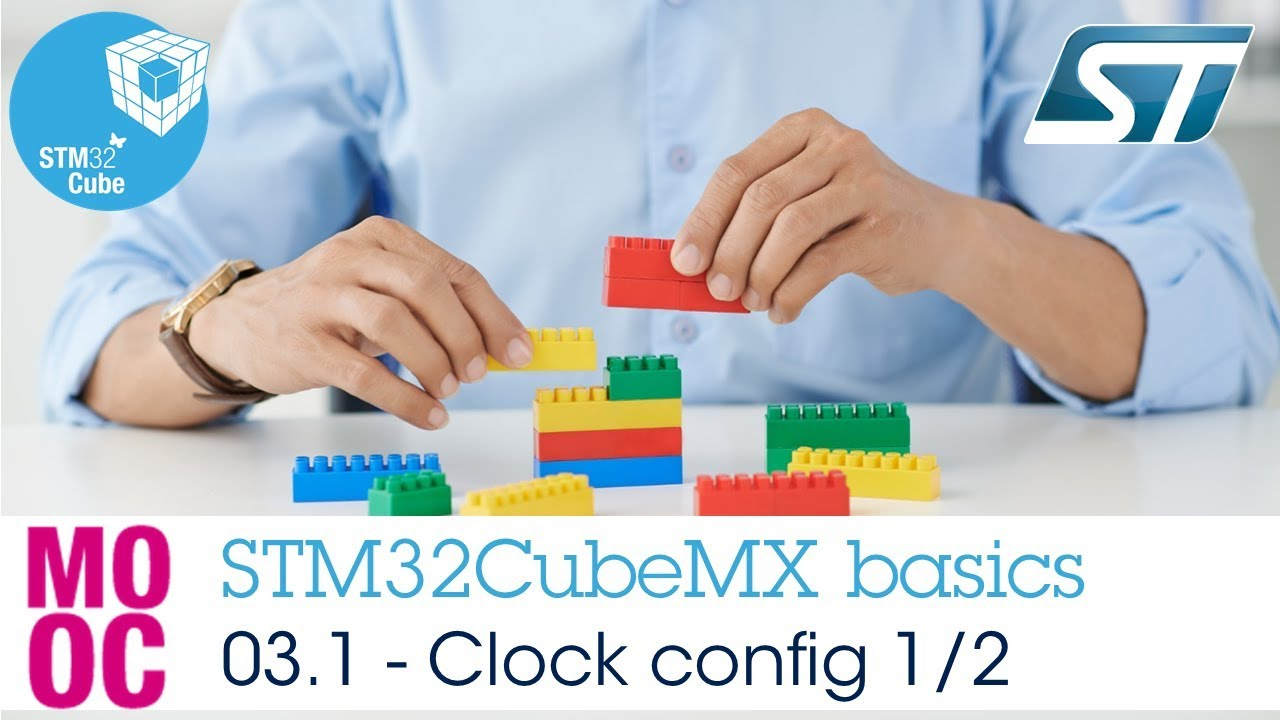 STM32CubeMX basics: 03 1 STM32CubeMX clock configuration tab - Basics
