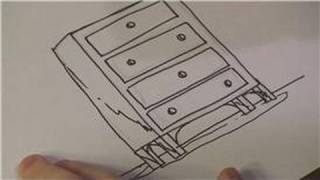 Drawing Lessons : How To Draw A Dresser