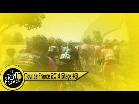 Tour de France 2014: Stage #3 Cambridge - London