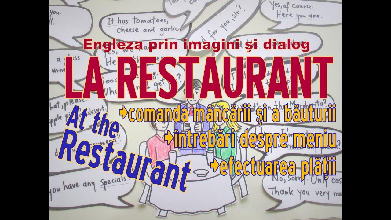 Sa invatam engleza - LA RESTAURANT / AT THE RESTAURANT - Let's learn English