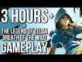 3 Hours of The Legend of Zelda Breath of the Wild Gameplay