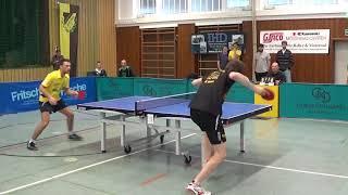 Guman vs erik schreyer spielende spvgg  effeltrich vs muehlhausen ii  20180415  bundesliga 3 table t