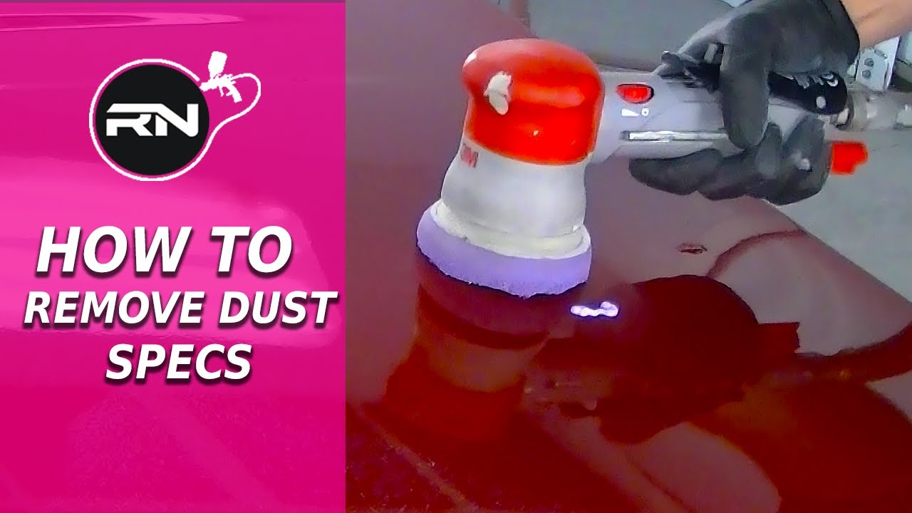 How Toremove Dust Specs From Car Paint