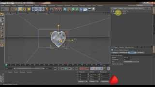 Сердце в CINEMA 4D (урок)
