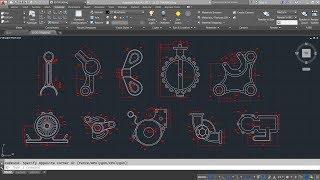AutoCAD 2D Sketch Training For Beginner | 10 Models | Live Streaming