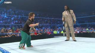 Friday Night SmackDown - Hornswoggle convinces Booker T to hit the Spin-a-Roonie