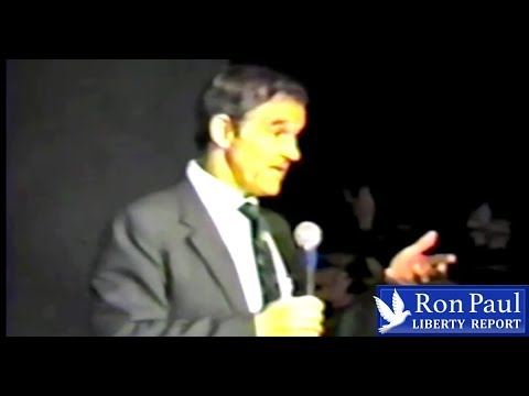 The Role of Government: Ron Paul Classic from 1988