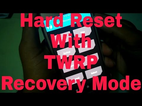 How To Hard Reset Your Device With TWRP Recovery Mode of Sumsung Galaxy J2 SM-J200G (HINDI)