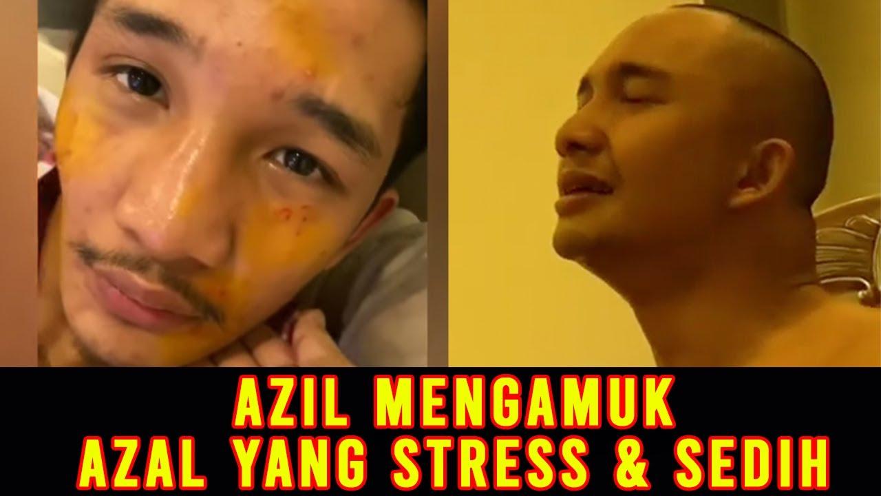 Download AZIL MENGAMUK TAPI AZAL YANG STRESS DAN Sedih! #20A