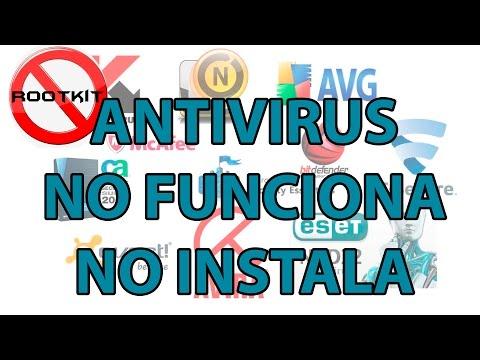 No puedo instalar ningún antivirus -- No funciona ningún antivirus | Solución