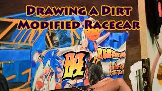 Drawing a Dirt Modified Racecar