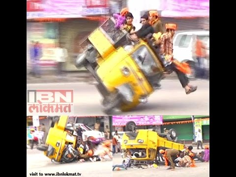 Hyderabad auto rickshaw accident