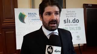 Henrique Ávila | Combate à cultura do litígio | Brazil Legal Symposium  at Harvard Law School 2019